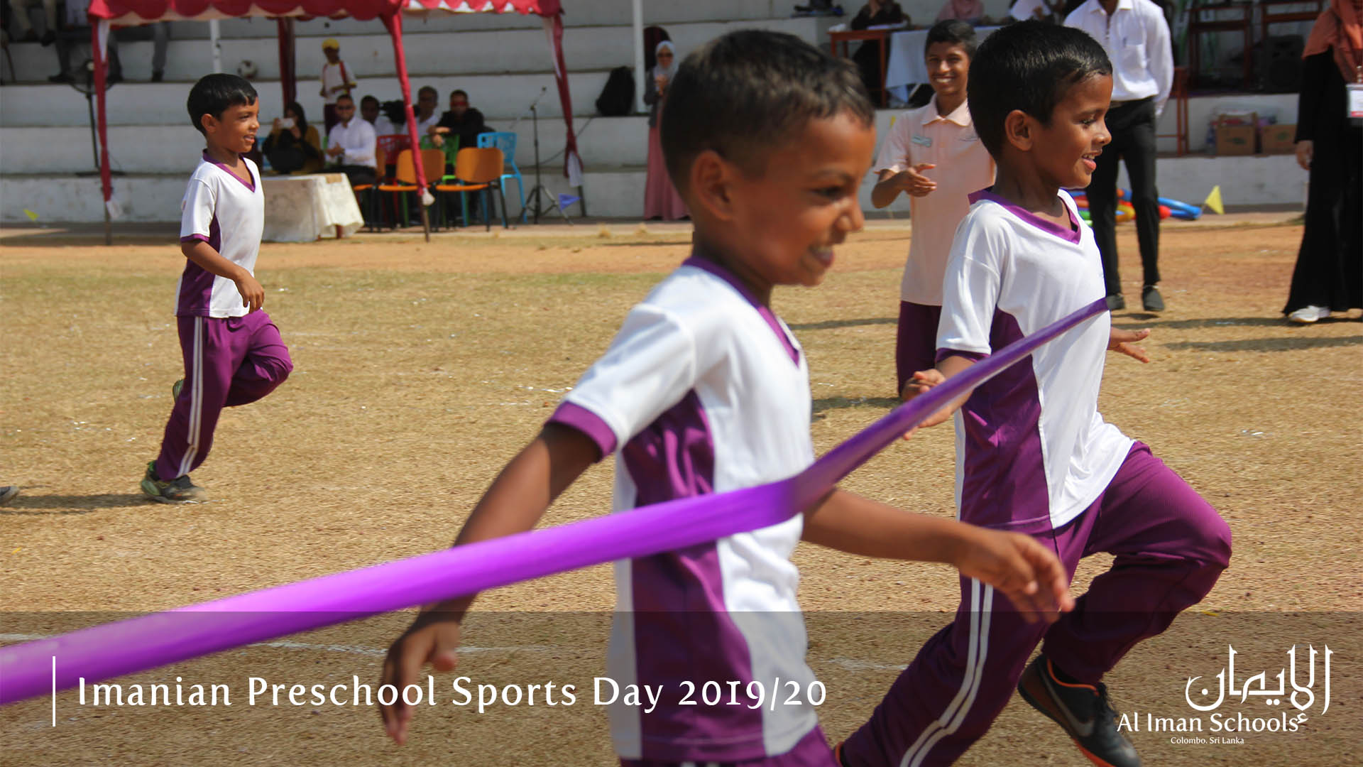 Images from the Preschool Section Sportsmeet 2019/20