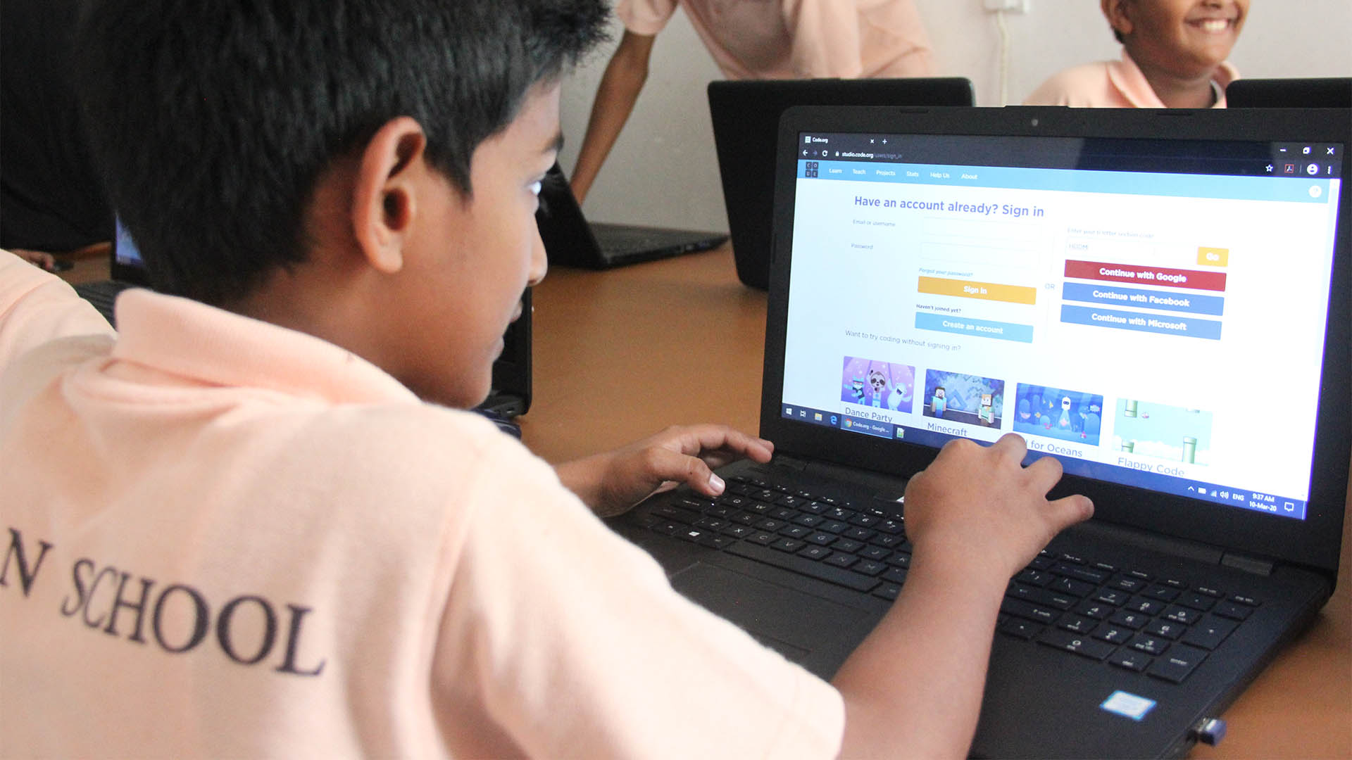 e-learning at Al Iman Schools